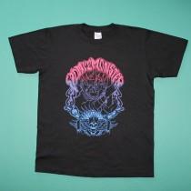 vomitmonster グラデーションTシャツ