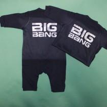 岐阜県 C様 ベビーロンパース BIGBANG ロゴ